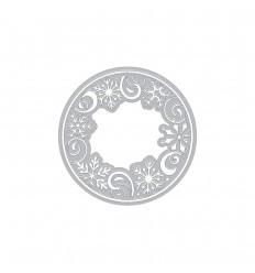 Stanzschablone Snowflake Medallion - Hero Arts