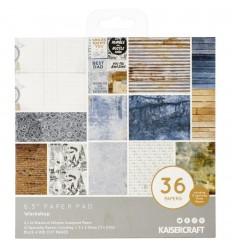 """Scrapbooking Papier Workshop, 6.5"""" x 6.5"""" - Kaisercraft"""