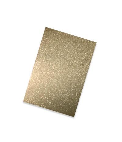 Vinylfolie leicht glitzernd gold, A4 - Plottermarie