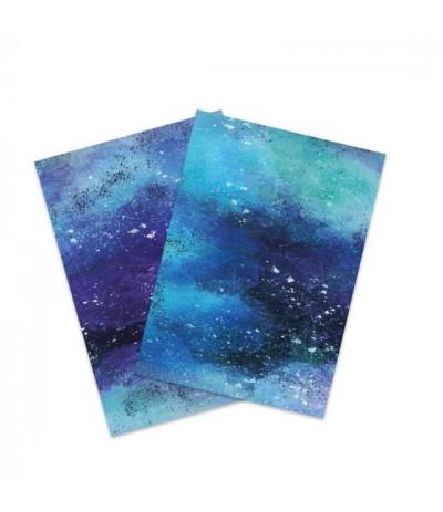 Flexfolie Watercolor Ocean, A4 - Plottermarie