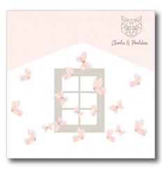 Stanzschablone Fenster Basic - Charlie & Paulchen