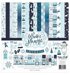 "Scrapbooking Papier Winter Magic, 12x12"" - Echo Park"