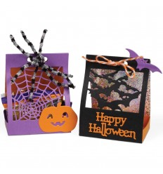 Stanzschablone Halloween Treat Lantern - i-Crafter