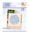 Stanzschablone Glittering Snowflakes - Crafters Companion