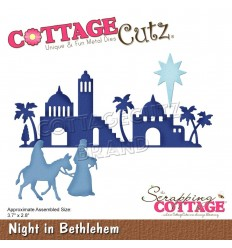 Stanzschablone Night in Bethlehem - Cottage Cutz
