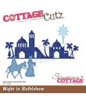 Stanzschablone Night in Bethlehem - Cottage Cutz