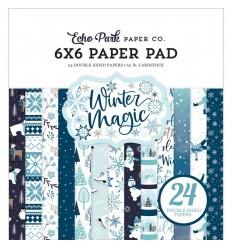 "Scrapbooking Papier Winter Magic, 6x6"" - Echo Park"