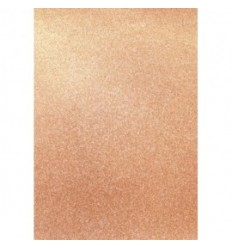 Glitter Papier weiss, selbstklebend, A4 - Artoz