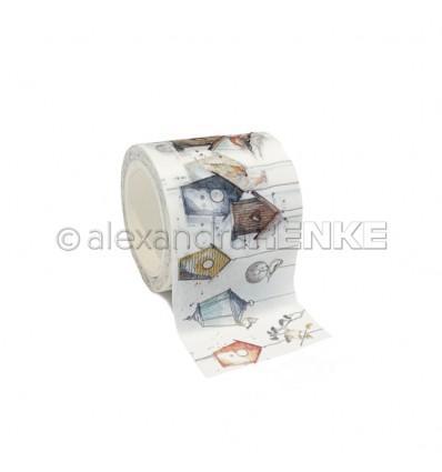 Washi Tape Birdhouses - Alexandra Renke