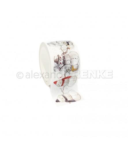 Washi Tape Snowman Family - Alexandra Renke