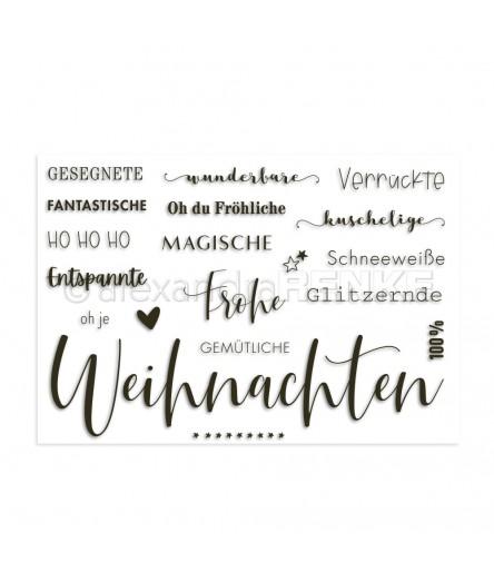 Clear Stamps Viele Weihnachtsgrüsse - Alexandra Renke