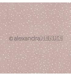 Scrapbooking Papier SchneegestöberSandstein- Alexandra Renke