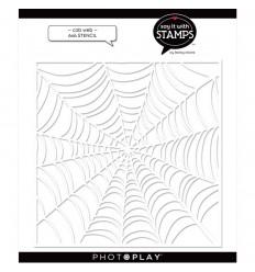 Stencil Schablone Cob Web - Photo Play