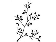 Blätter & Zweige Stempel