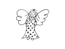 Angel Rubber Stamps