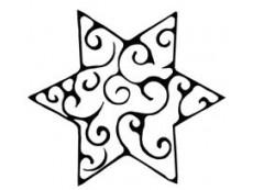 Sterne & Sonne Holzstempel