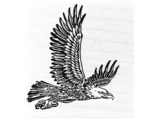 Vögel & Federn Stempel