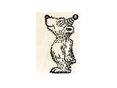 Teddy & Other Bears Rubber Stamps