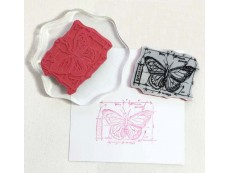 Cling Rubber Stamps mounted on EZ Mount