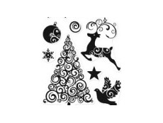 Christmas / Winter Clear Stamps