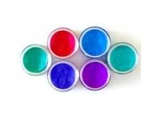 Twinkling H2O's 6er Set Perlmuttfarben