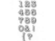 Alphabets, Numbers & Words Dies