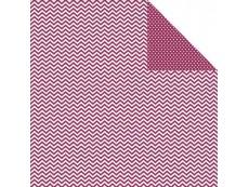 Scrapbooking Papier Uni und Muster doppelseitig