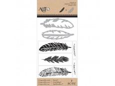 Clear Stamps und Stanzschablonen Set